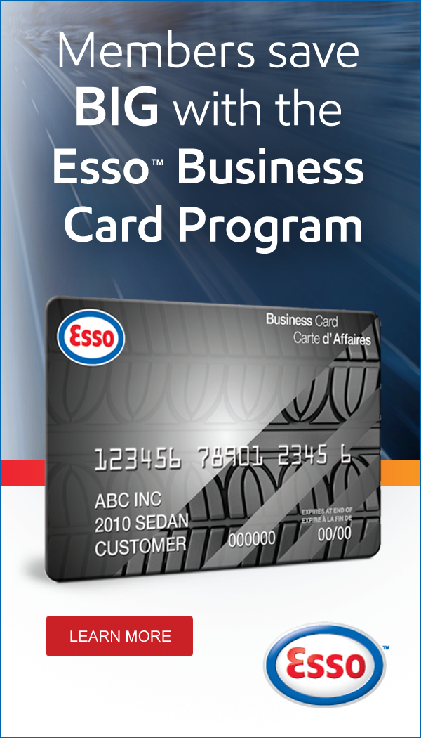 Esso savings west prince chamber of commerce get a discount of 35 per litre with the west prince chamber of commerce esso business card program reheart Gallery